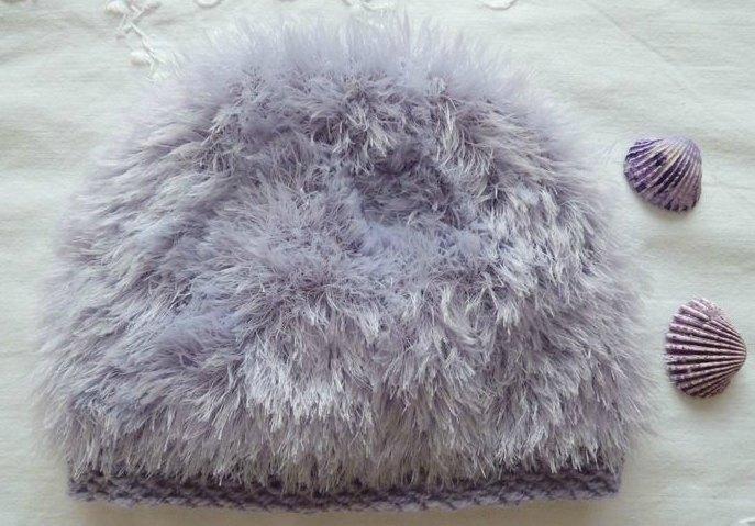 bonnet cloud mauve, ref 0445, naissance