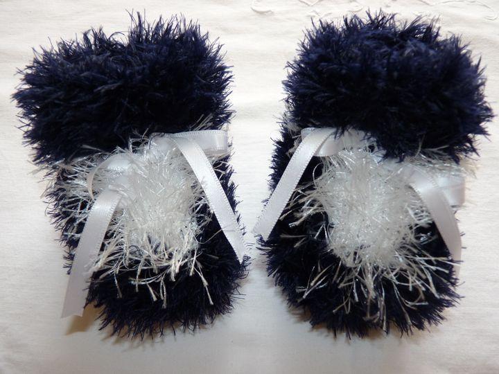 Moon boots marine et blanc; ref 0518, naissance, disponibles
