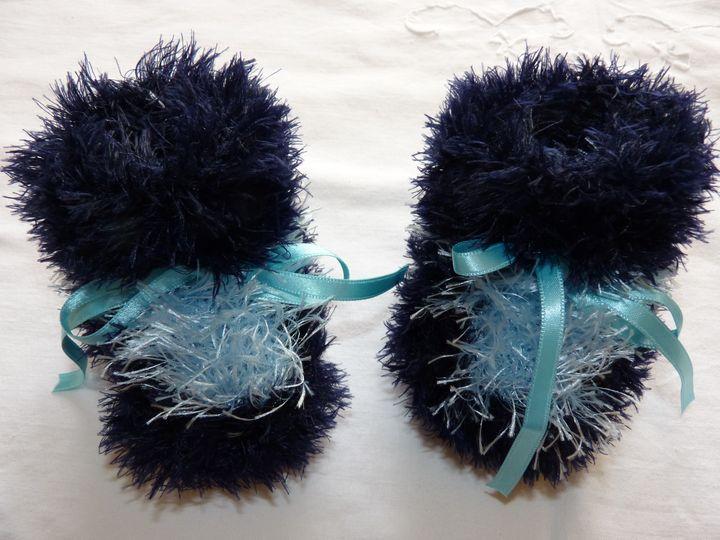 Moon boots marine et bleu ciel, ref 0521, naissance, disponibles