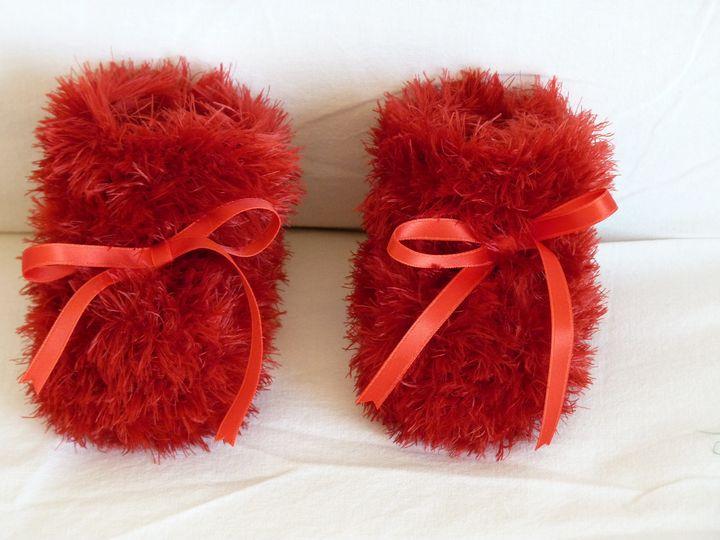 Moon boots rouges, ref 0433, naissance, disponibles